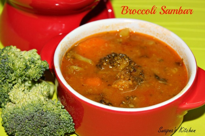 broccoli sambar.