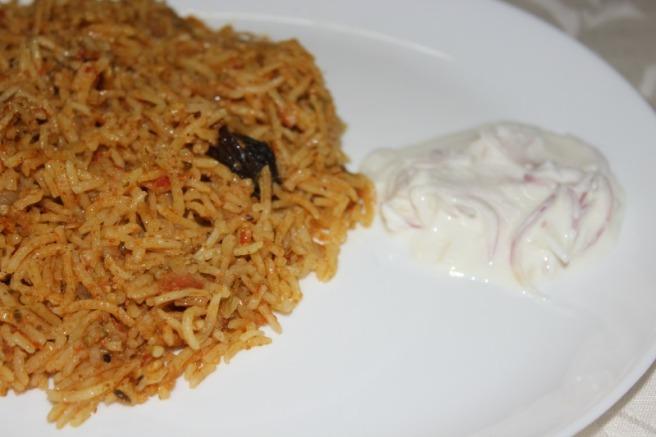 tomato briyani
