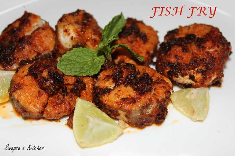 Fish fry fish roast swapnas kitchen fish fry is a famous non veg fry of south indiaey can be served as an appetizer or startere methods of making fish fry varies from region to region forumfinder Image collections