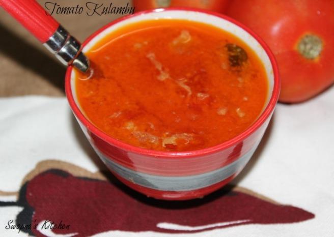 tomato kulambu..