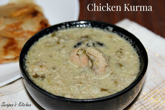 chicken kurma,