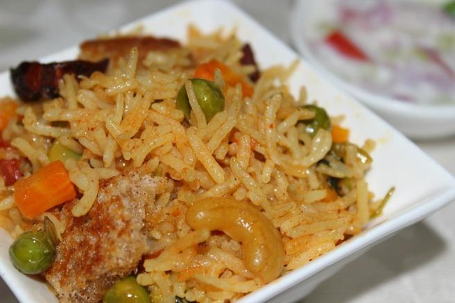 veg briyani