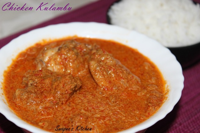 chicken kulambu.
