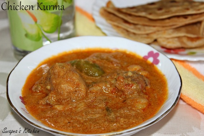 chicken kurma..