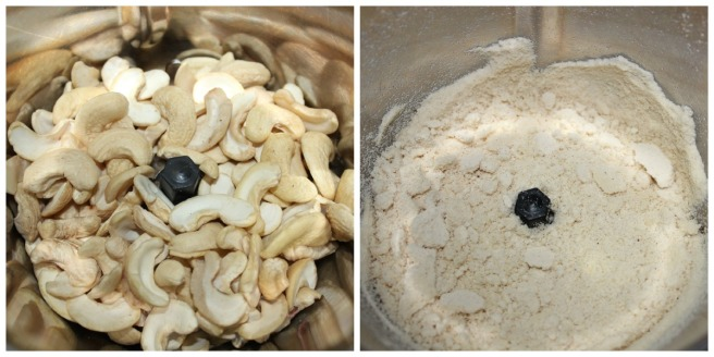 powder cashews