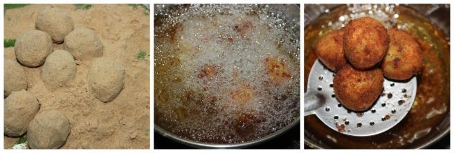 deep fry the balls