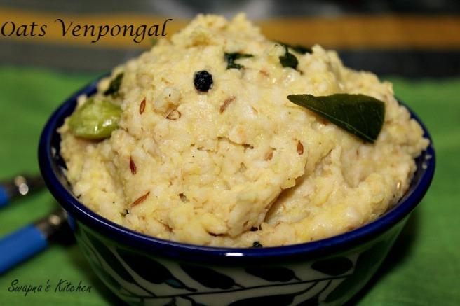 oats  venpongal