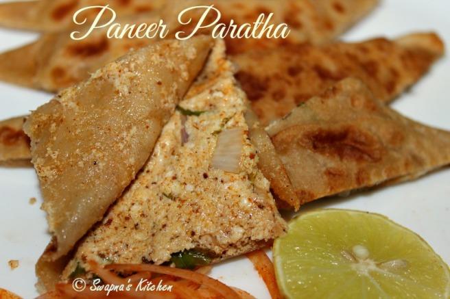 paneer paratha,