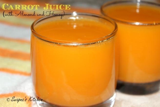 carrot juice.,
