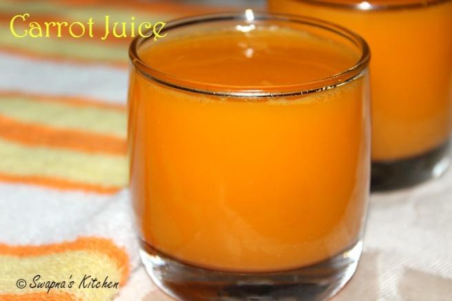 carrot juice,..