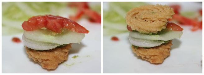add tomato and another murukku