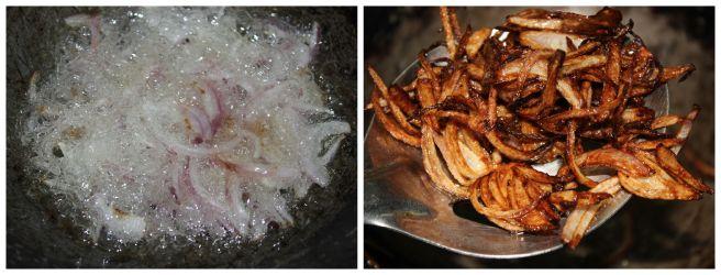 deep fry the onions