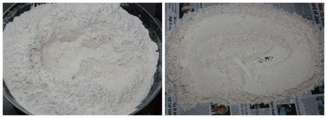 roast the flour