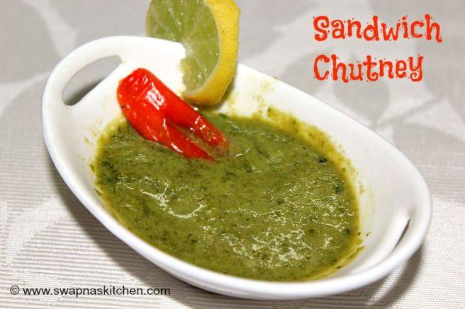 sandwich chutney,.,