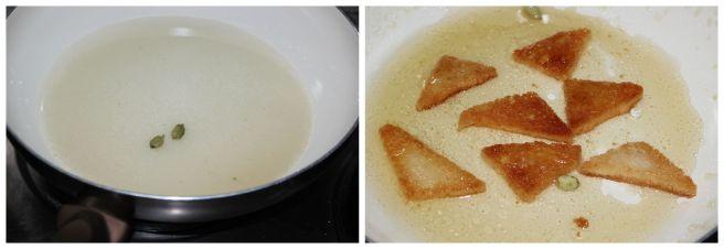 dip in sugar syrup