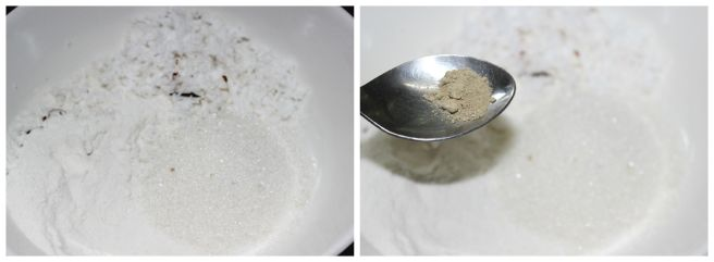 prepare the flour