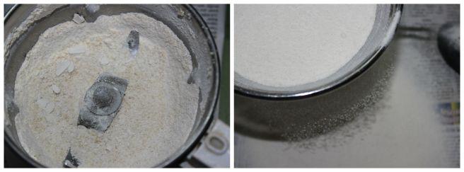 sieve the flour