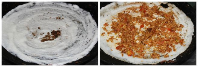 spread over dosa