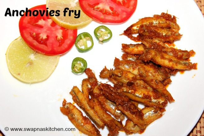 anchovies fry