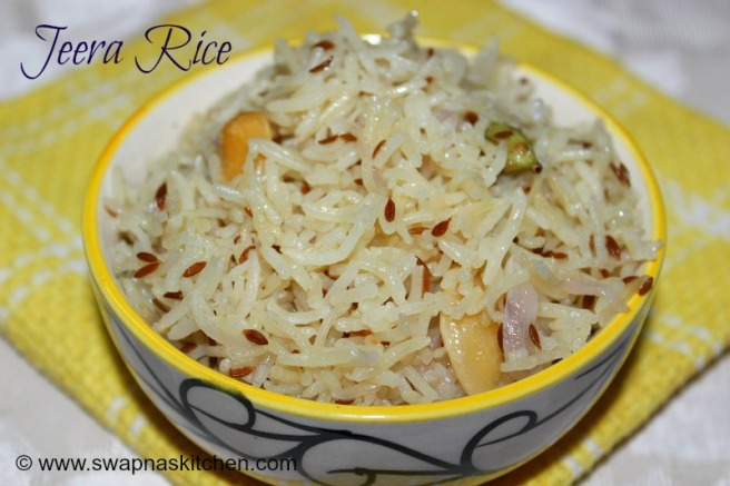 jeera rice.,