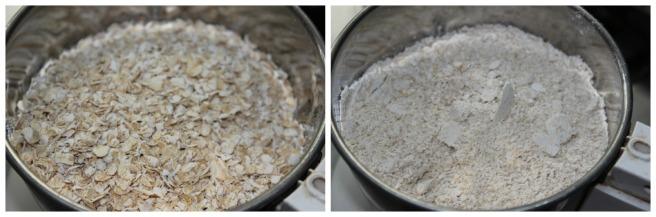 powder the oats