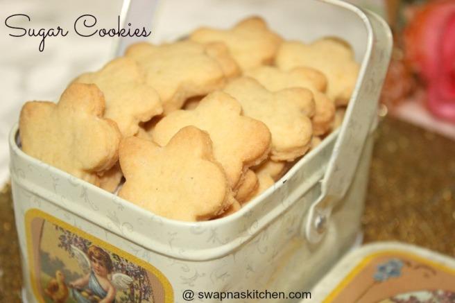 sugar cookies.,