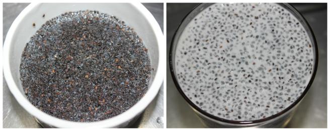 add a tsp of sabja seeds