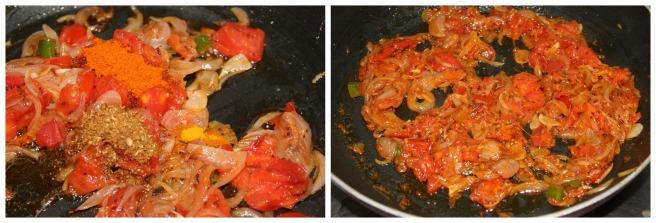 add turmeric,chilli,garam masala