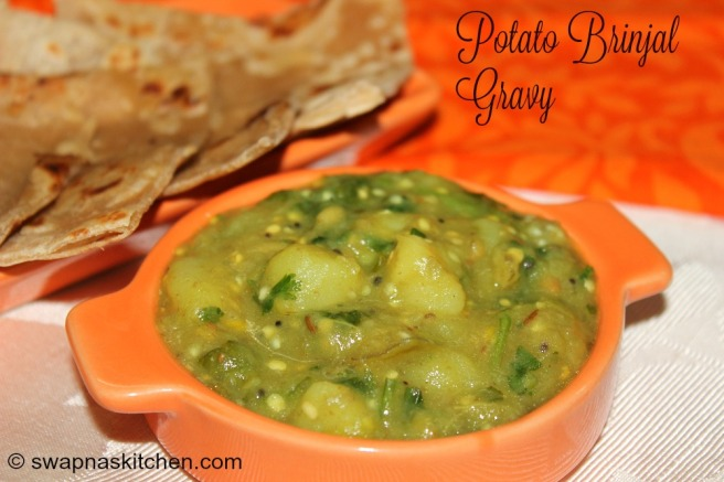 brinjal potato gravy