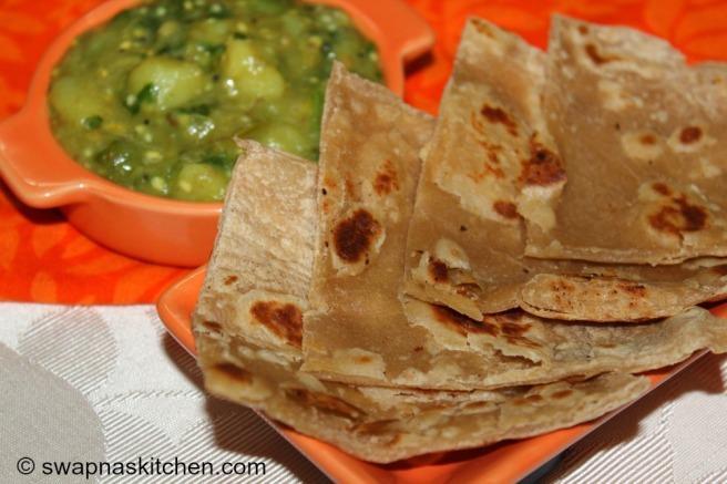 chapathi gravy