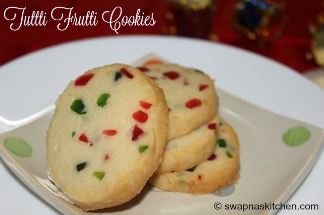 tutti frutti cookie