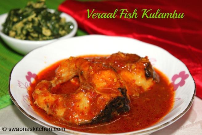 veraal fish kulambu
