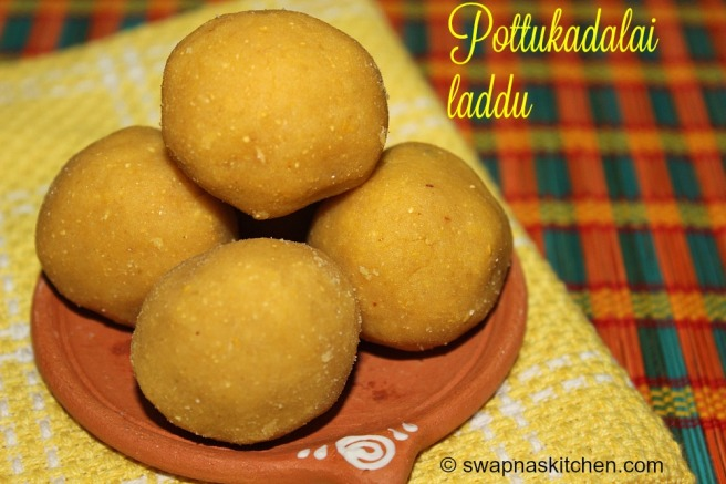 pottukadalai laddu