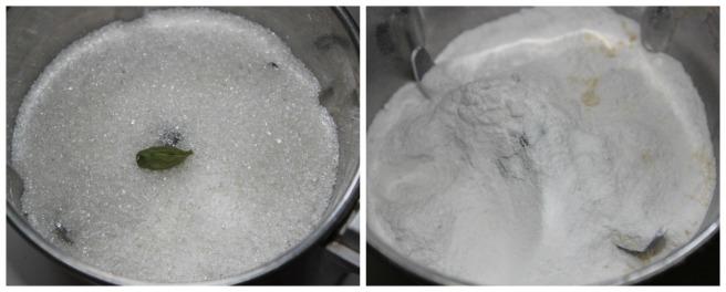 powder sugar with cardamom