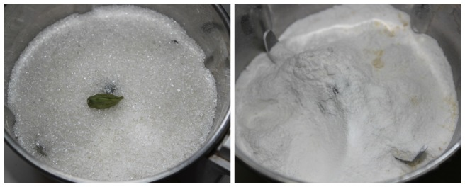 powder sugar with cardamom