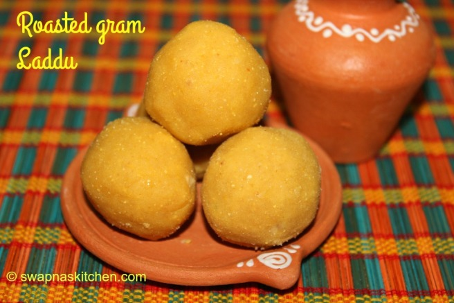 roasted gram laddu