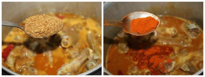 add kari masala,chili powder