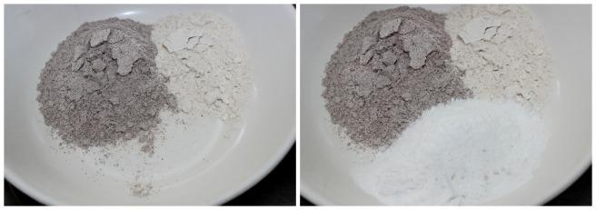 mix ragi,wheat and sugar