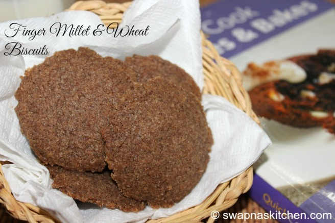 ragi ,wheat biscuits