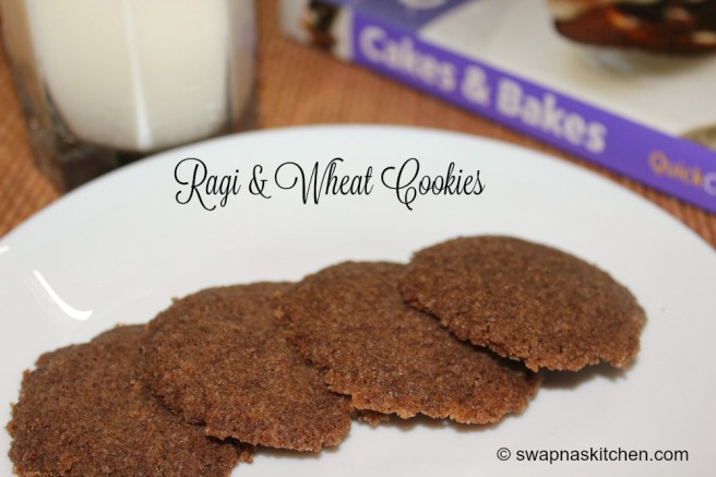 ragi, wheat cookies